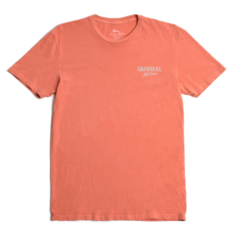 On The Rocks Premium Pigment T-Shirt Terra Cotta Pigment