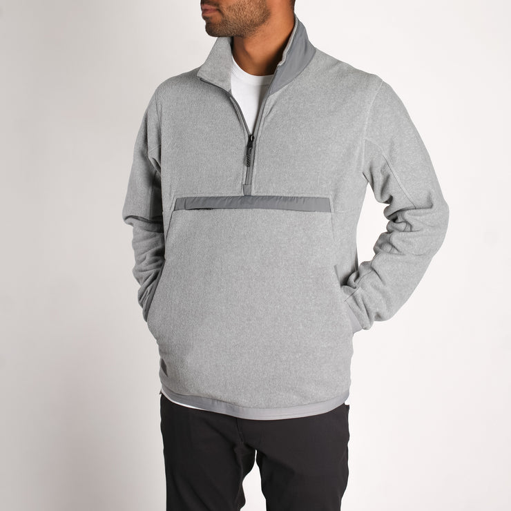 Men's Onward Polar Fleece Grey Heather