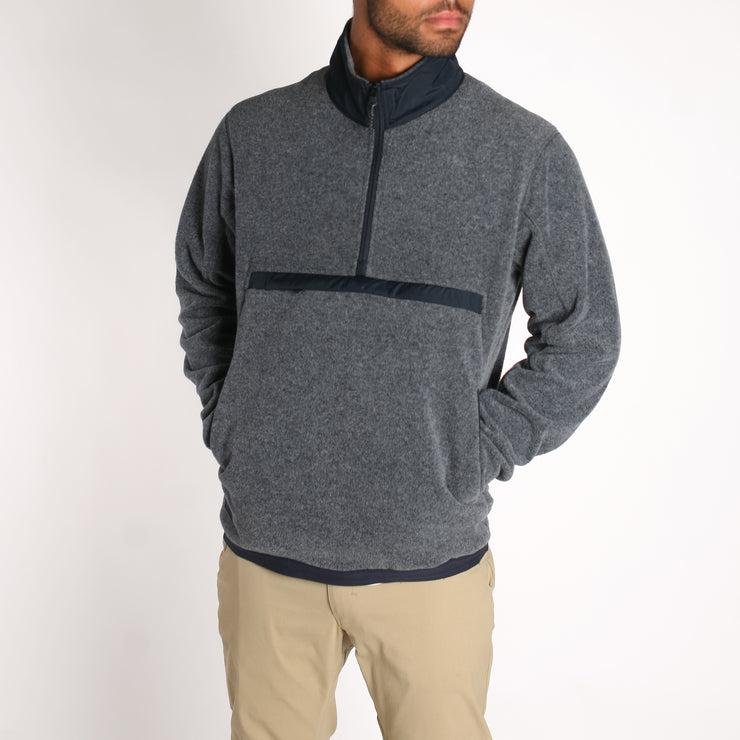 Men's Onward Polar Fleece Navy Heather