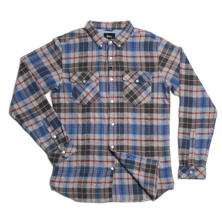 Parker Flannel Grey