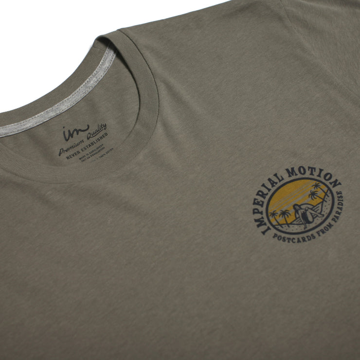 Postcards From Paradise Premium T-Shirt Sage