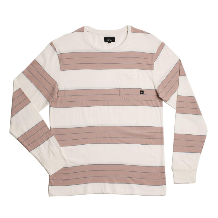 Program LS Pocket T-Shirt Rose