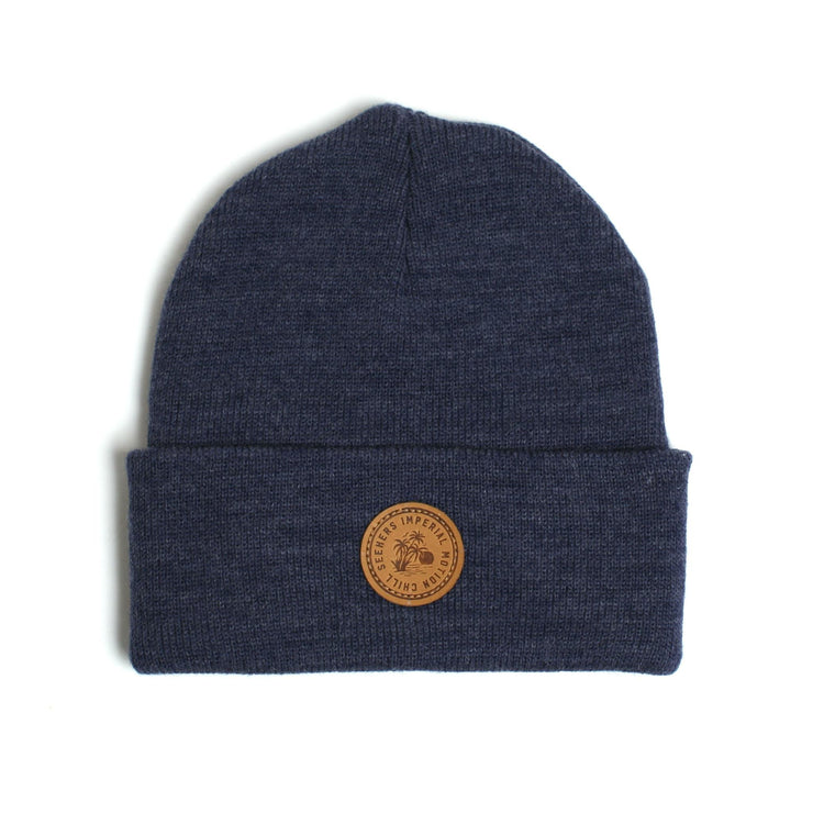 Seeker Beanie Navy Heather