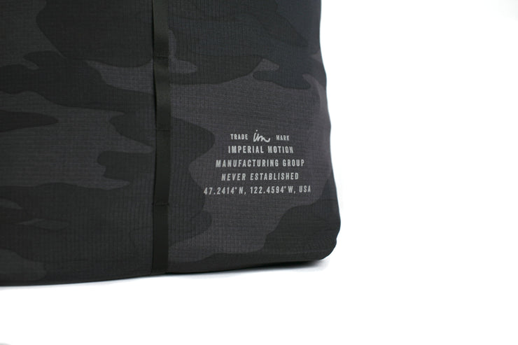 Convoy Packable Backpack Black Camo