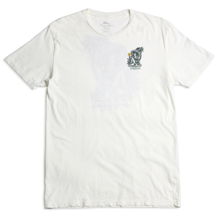 Salty Senorita Premium Pigment T-Shirt Antique White