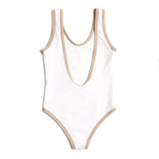 Seeker One Piece White/Nude
