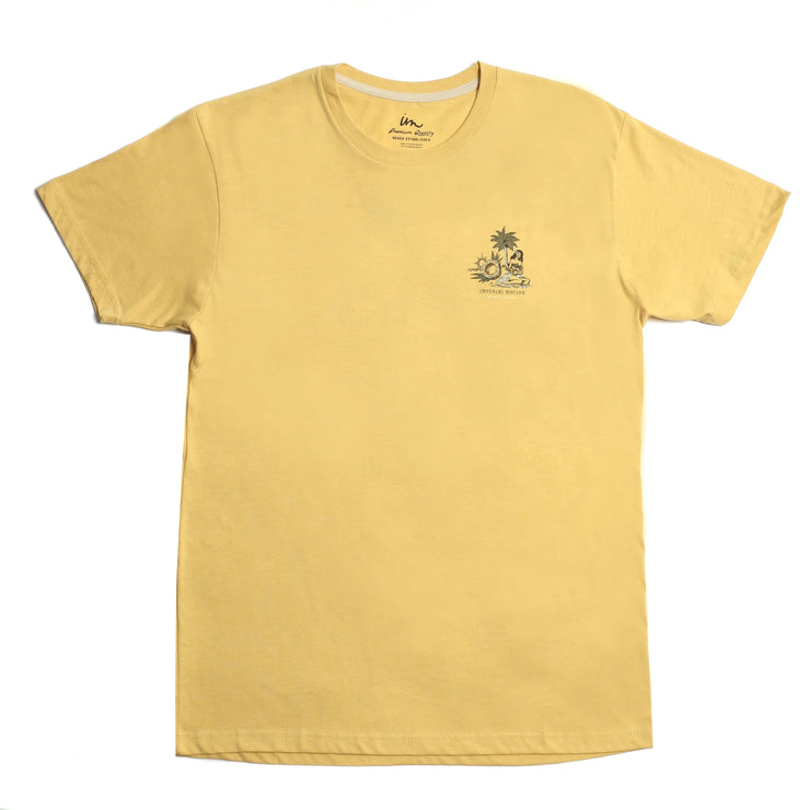 Sights & Sounds Premium T-Shirt Mustard