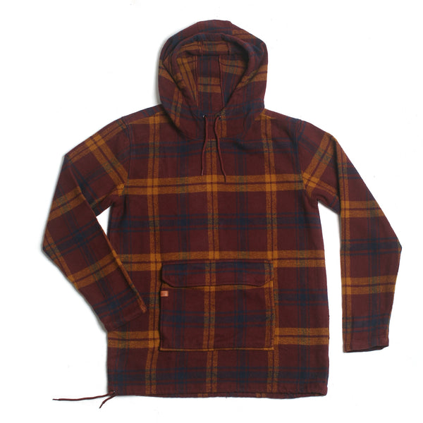 Silo Heavyweight Anorak Flannel