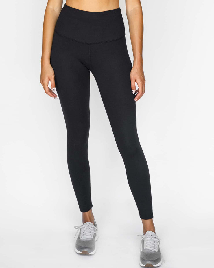 Solo 7/8 High Waisted Legging Black
