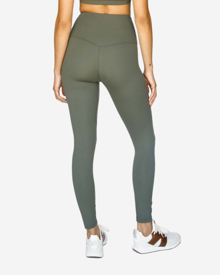 Solo 7/8 High Waisted Legging Olive