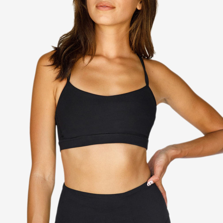 Solo Sports Bra Black