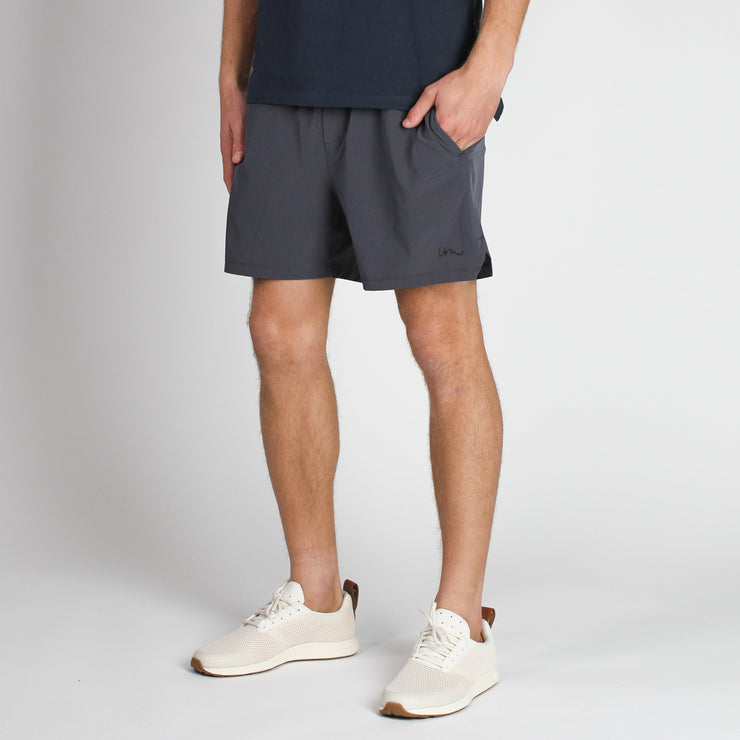 Thesis Training Short Denim Blue