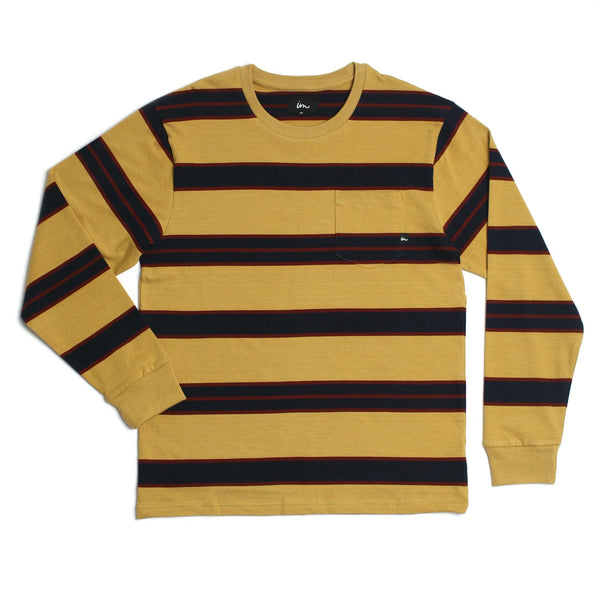 Vintage LS Pocket T-Shirt Mustard
