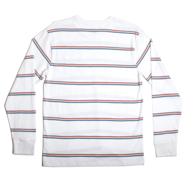 Vintage LS Pocket T-Shirt White