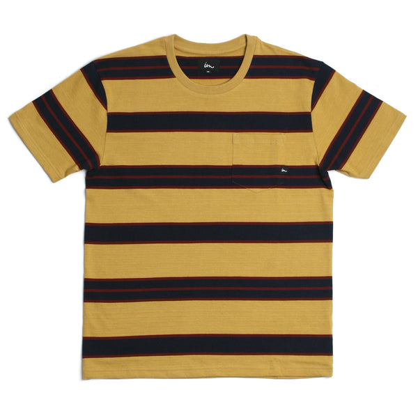 Vintage Pocket T-Shirt Mustard
