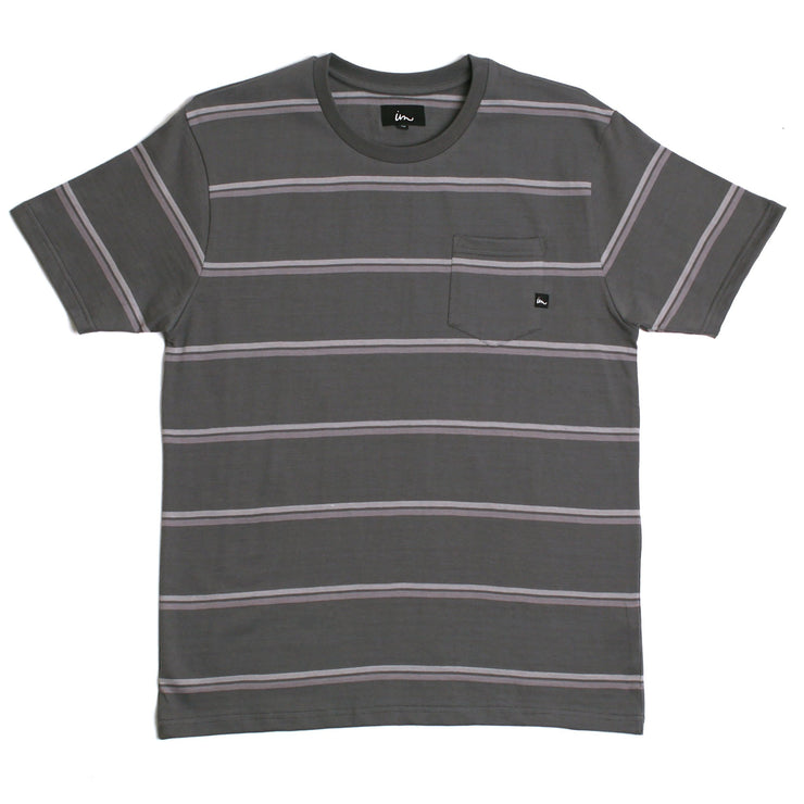 Vintage Pocket T-Shirt Steele Grey