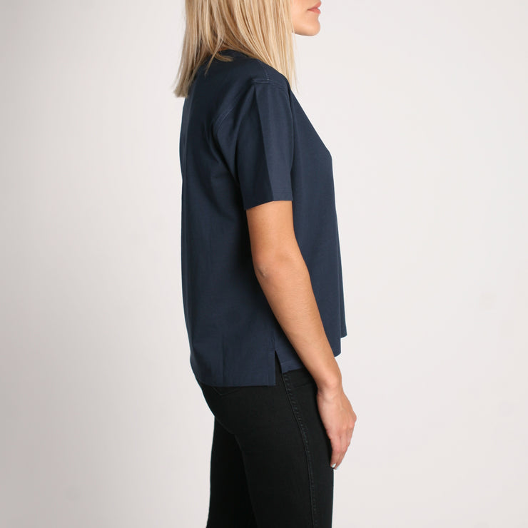 Density Women's Premium T-Shirt Navy