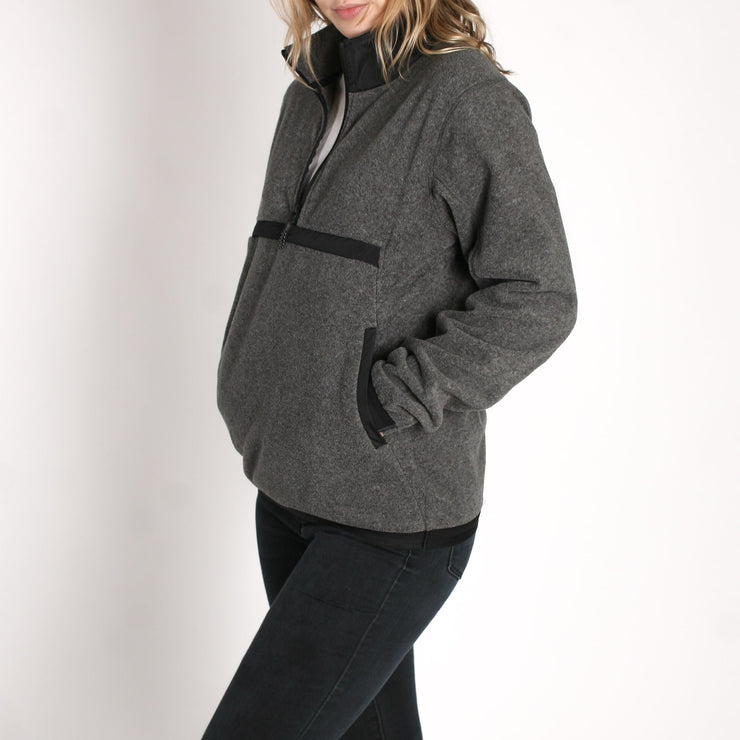 Women's Onward Polar Fleece Charcoal Heather