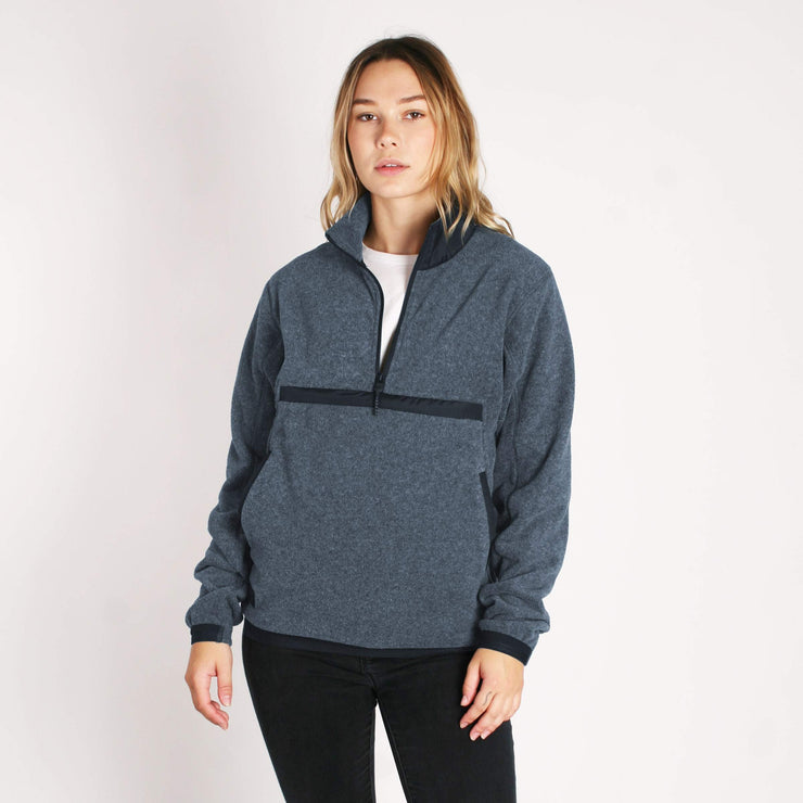 Women's Onward Polar Fleece Navy Heather