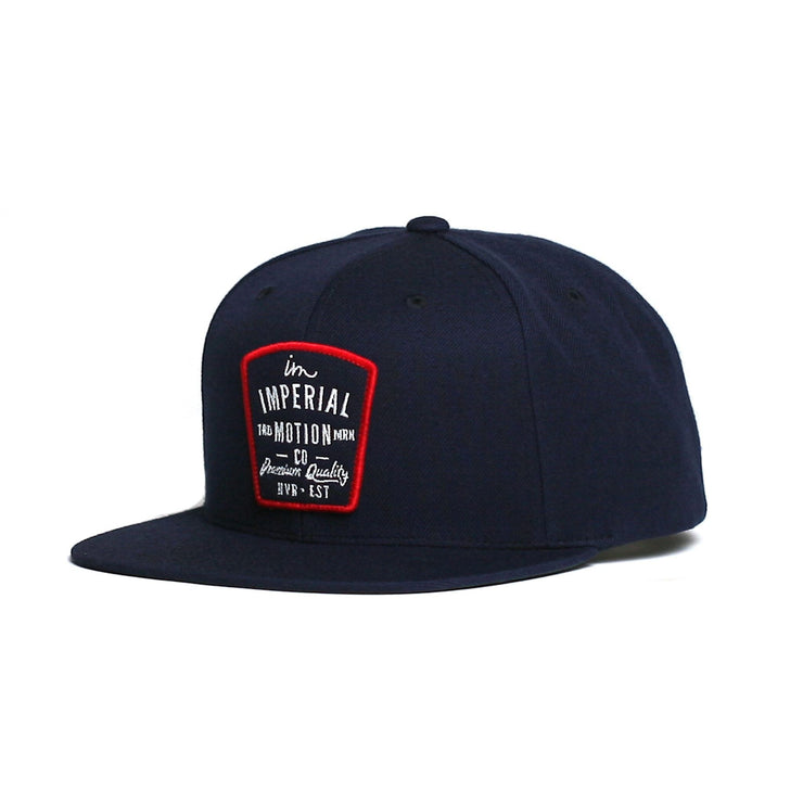 Warrant Snapback Hat Navy