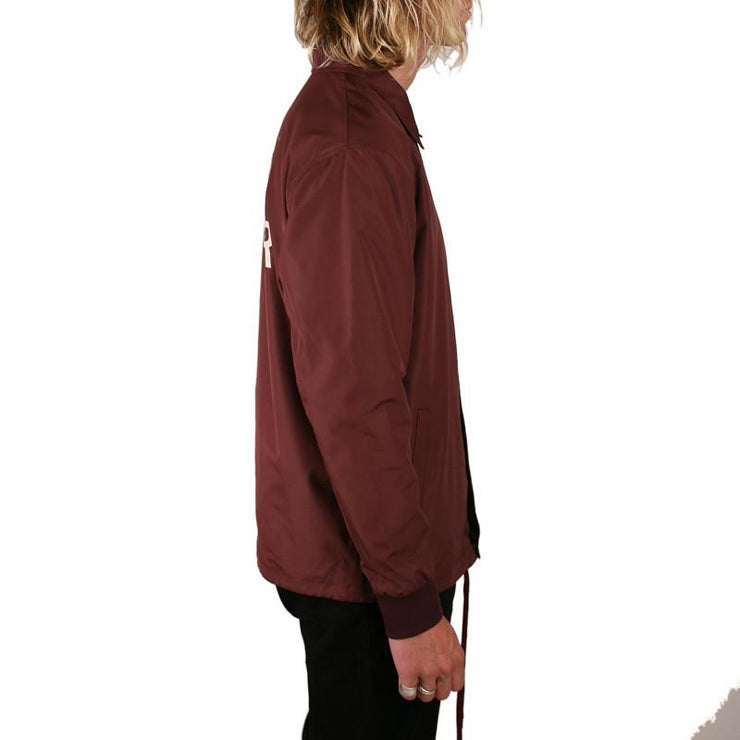 Chill Seeker Coaches Jacket Burgundy