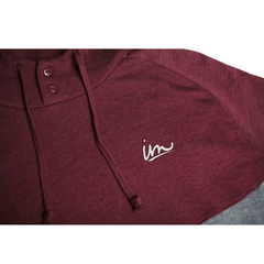 Forcast Hooded Henley