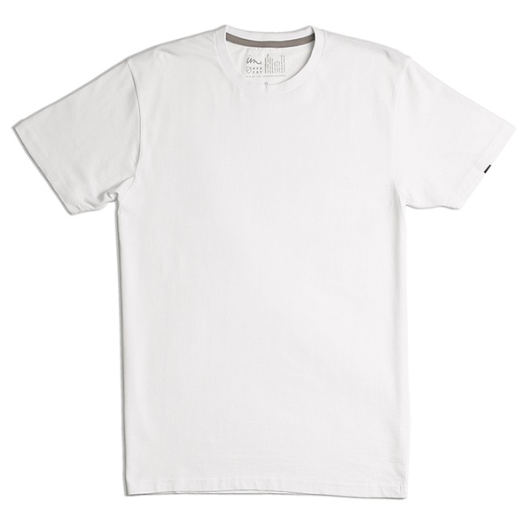 Premium White Tee and Curser Sock