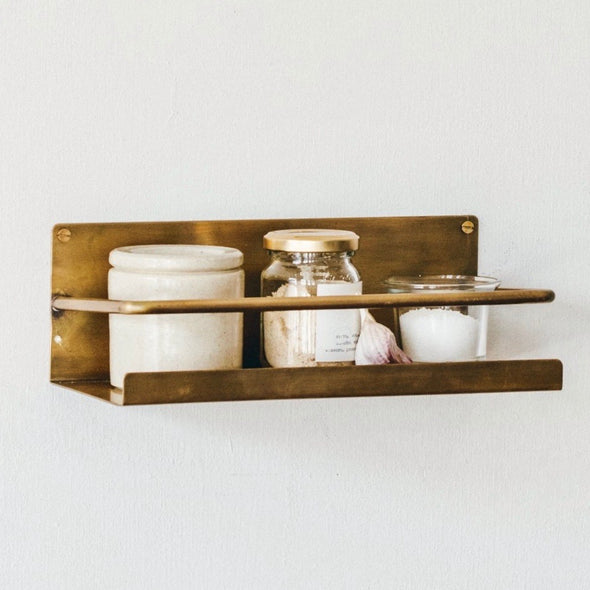 Brass Wall Shelf