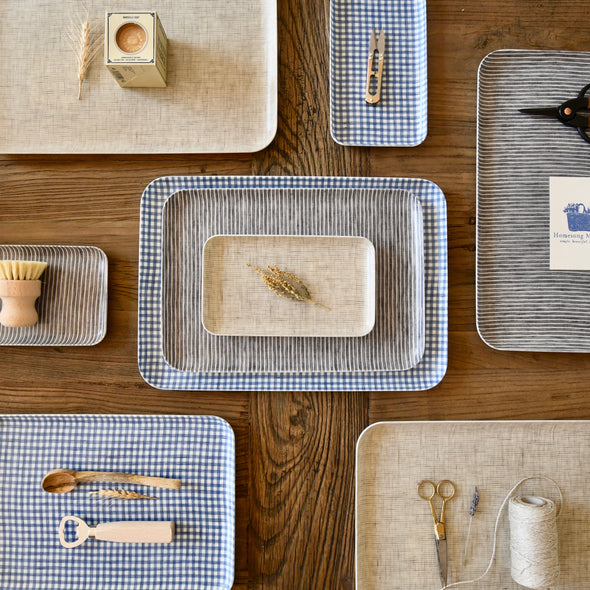 Linen Coated Trays