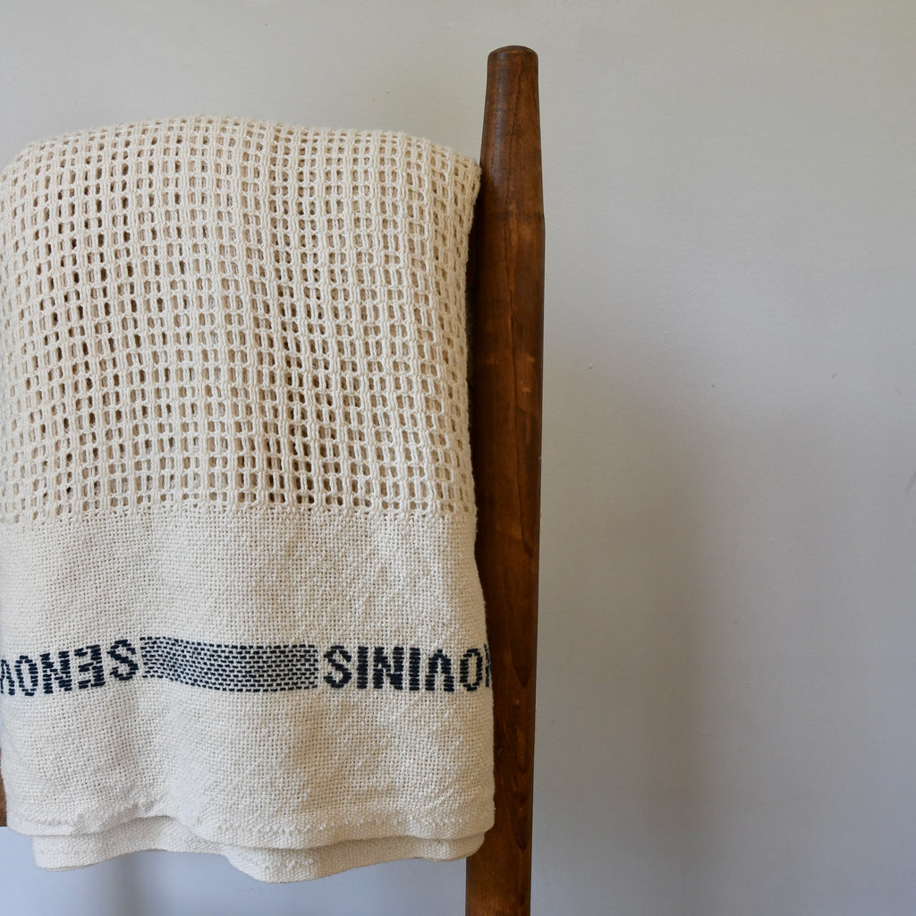 Waffle Knit Cotton Blanket