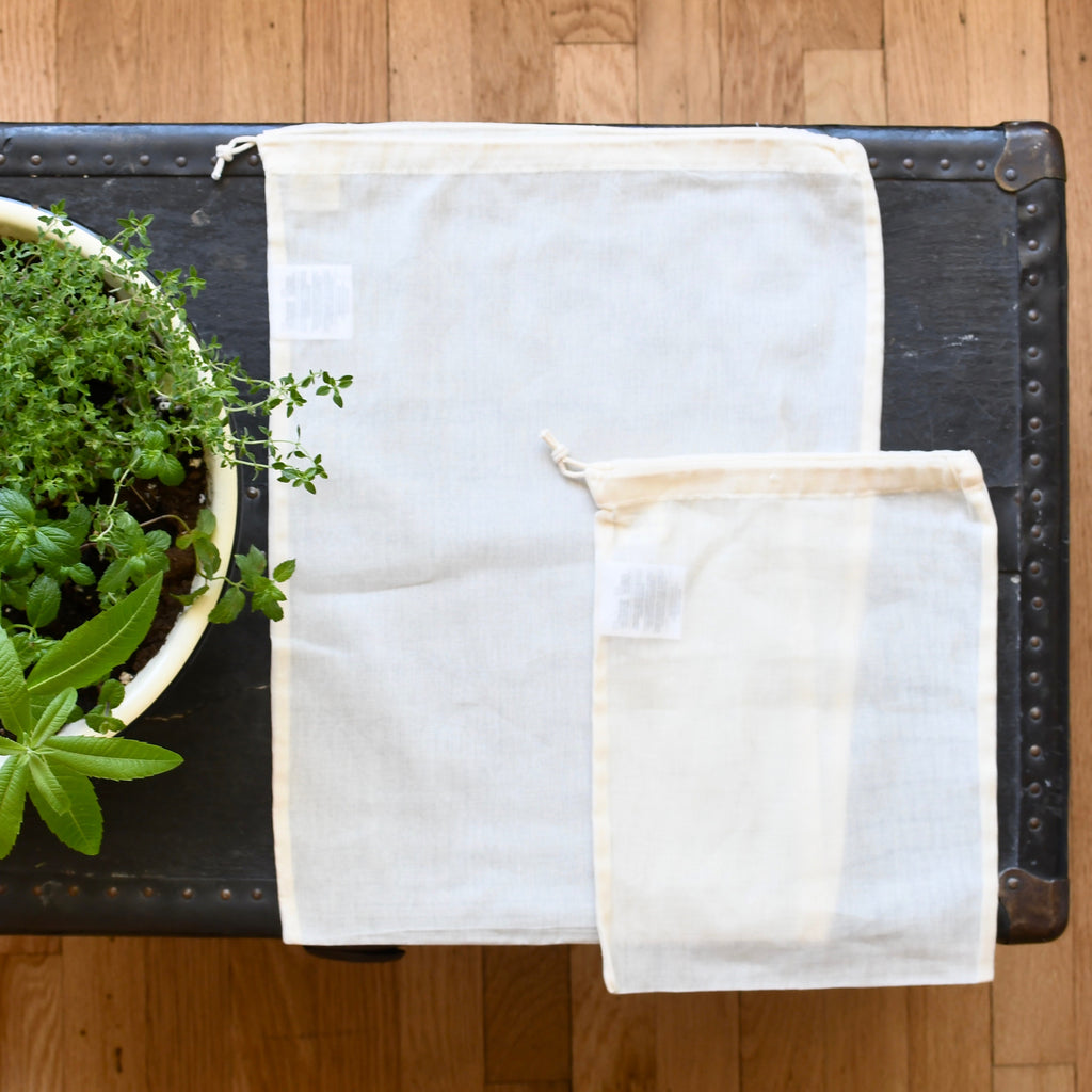 Sustainable Gauze Produce Bag