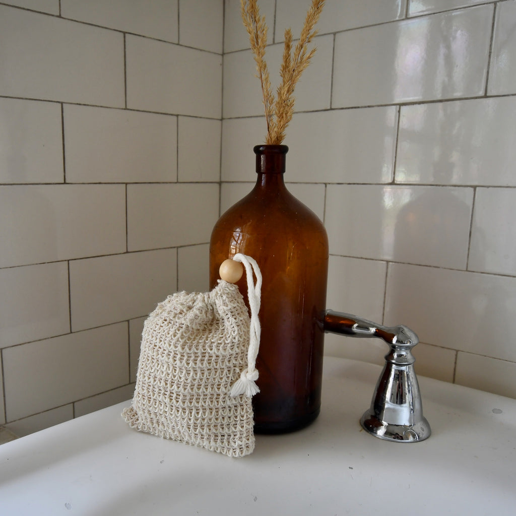 Woven Soap Saver Pouch
