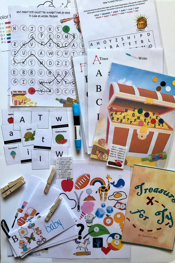 Play 2 Learn Letters activity pack - Home Learning Company