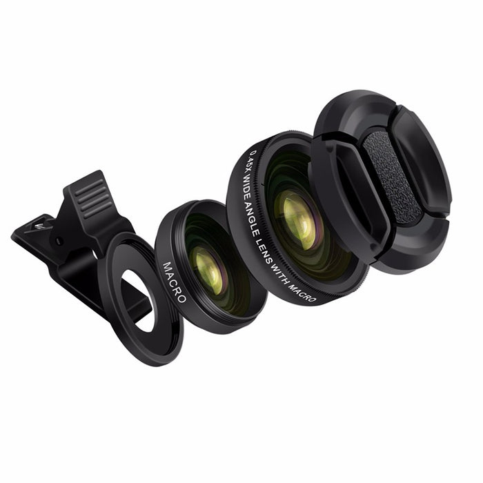 2 in 1 Professional HD Phone Camera Lens Kit