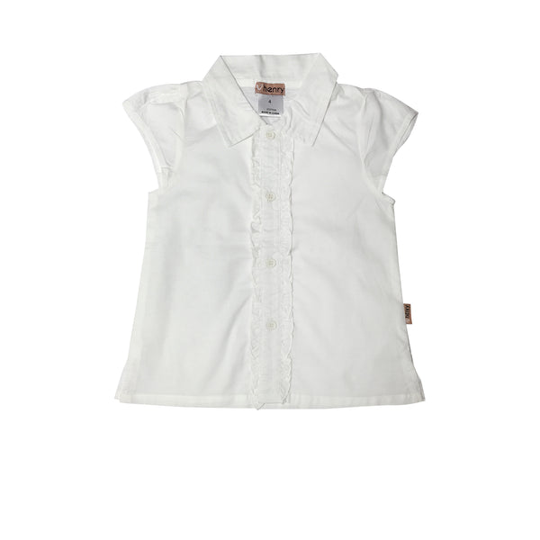 Daisy Blouse - White Love Henry