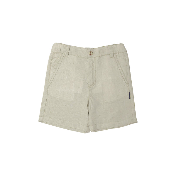 Hamptons Chino Shorts - Linen - Love Henry