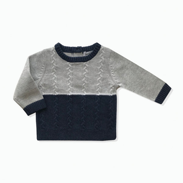 Panelled Jumper - Beanstork