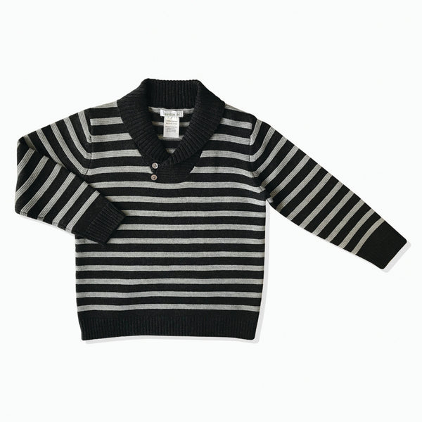 Striped Cowl Jumper - Beanstork