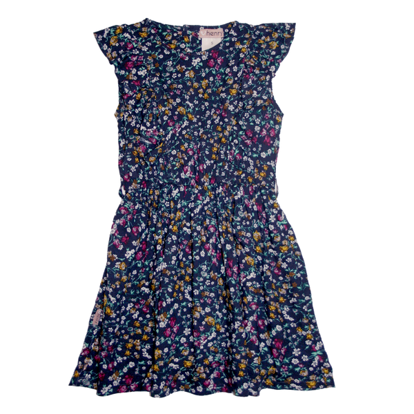 Big Girls Florence Summer Dress in Floral