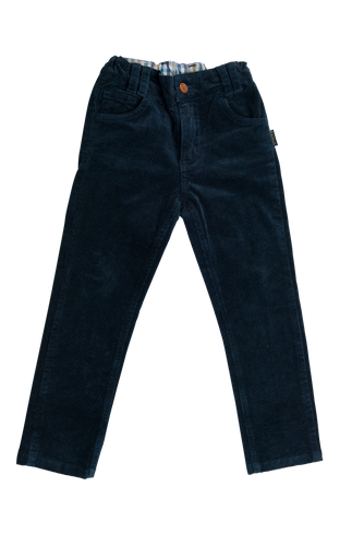 Love Henry Boys Cord Pants - Navy