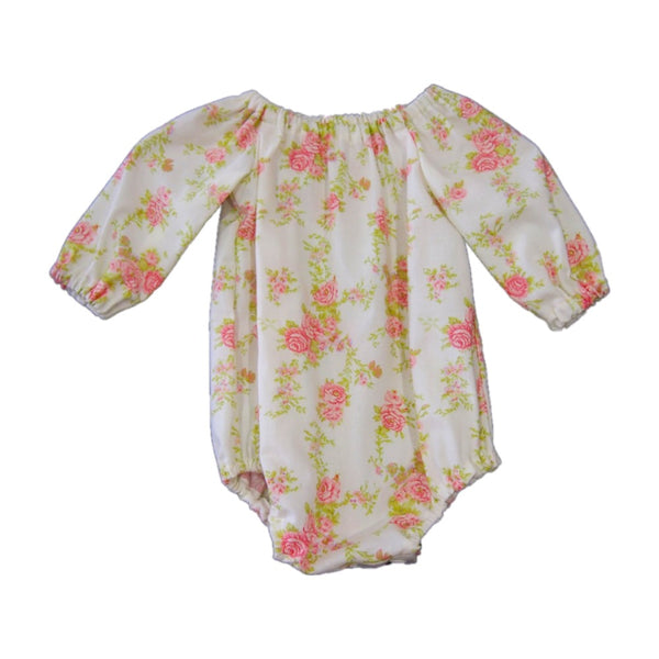 Floral Long sleeve Playsuit sizes 0000-3
