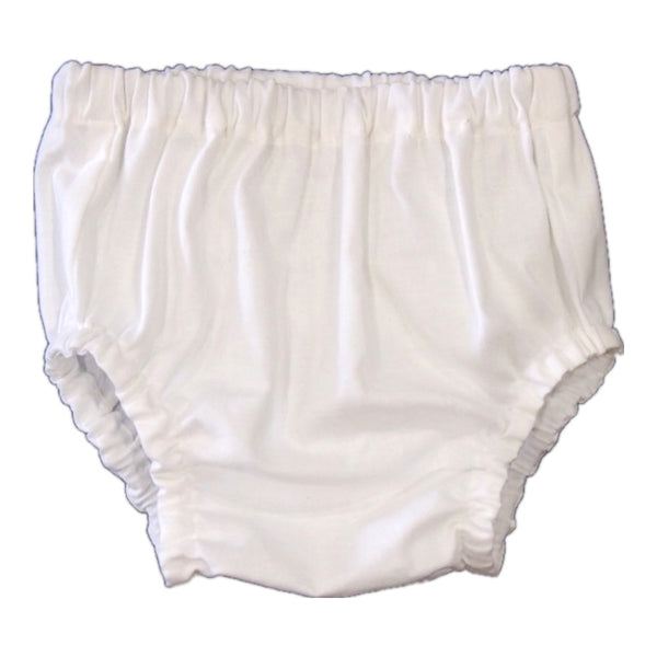White Micky Mae Nappy Cover