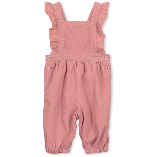 Cord Overall - Blush - Milky