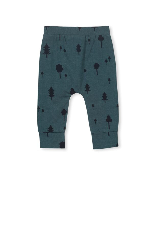 Forest baby Pant - Green Marle - Milky