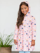 Hoodie Dress Always Hoppy Blush - Oobi