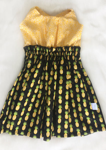 Pineapple Dress Sizes 1-6