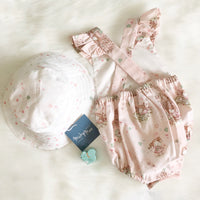 Astoria Playsuit and Bucket Hat set