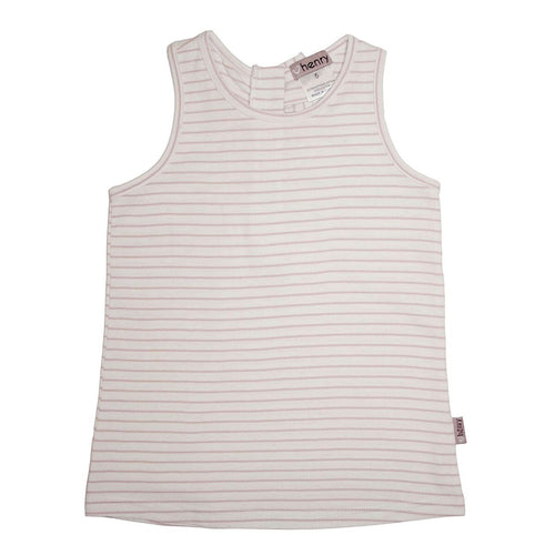 Girls zip back singlet top Pink