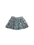 Girls Full Skirt - Teal Floral - Love Henry