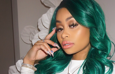 Blacc Chyna chills with the Glass Blunt